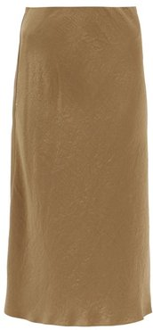 Alessio Skirt - Womens - Dark Beige