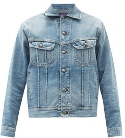 Trucker Denim Jacket - Mens - Blue