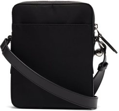 Technical Canvas Cross-body Bag - Mens - Black