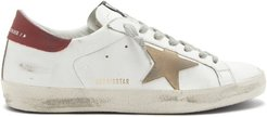 Superstar Leather Trainers - Mens - White