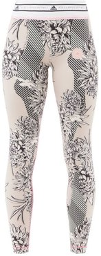 Future Playground Recycled Fibre-blend Leggings - Womens - Pink Multi