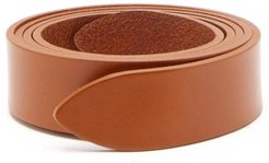 Lecce Leather Belt - Womens - Tan