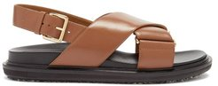 Fussbett Smooth Leather Sandals - Womens - Tan