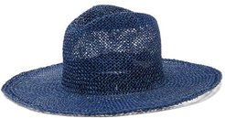 Norma Woven Hat - Womens - Blue