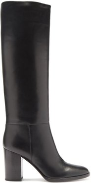 Santiago 85 Leather Knee-high Boots - Womens - Black