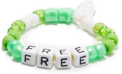Free Beaded Bracelet - Womens - Green