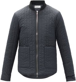 Bastian Quilted-shell Jacket - Mens - Grey
