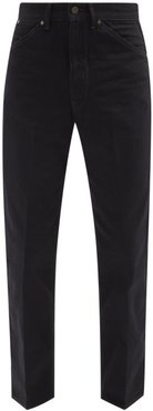 Tapered-leg Jeans - Mens - Black