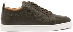 Rantulow Leather Trainers - Mens - Black White
