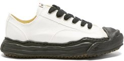 Hank Canvas Trainers - Mens - White