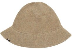 No.166 Harris Stretch-cashmere Bucket Hat - Womens - Beige