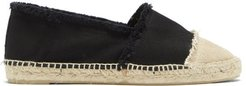 Kampala Canvas & Jute Espadrilles - Womens - Black