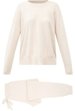 Cashmere Lounge Set - Womens - Beige