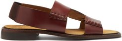 Llaut Two-strap Smooth-leather Sandals - Mens - Tan