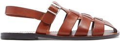 Quincy Leather Sandals - Mens - Tan