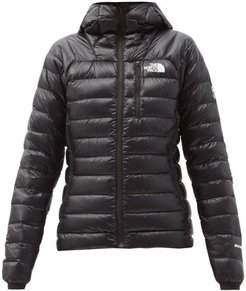 Summit Quilted Down Hooded Jacket - Womens - Black