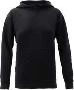 All Yours Cotton-blend Jersey Hooded Sweatshirt - Womens - Black