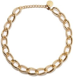 Taylor 18kt Gold-plated Choker - Womens - Yellow Gold