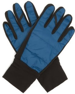 Classic Autumn Cycling Gloves - Mens - Blue