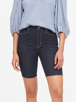 "High-Rise 9"" Denim Short"