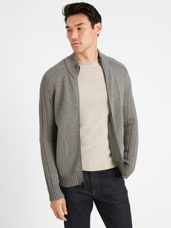 Heritage Recycled Cashmere Sweater Jacket