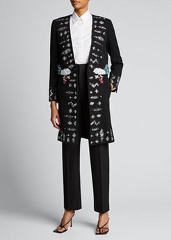 Reaching Out With Love Sequined Coat