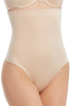Plus Size Suit Your Fancy High-Waisted Thong