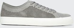 Farrell-5 Perforated Suede Sneakers