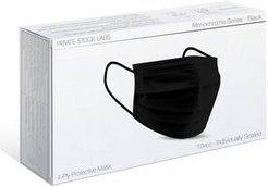 10-Pack 4-Ply Disposable Face Masks