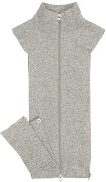 Cashmere Uptown Zip-Front Dickey