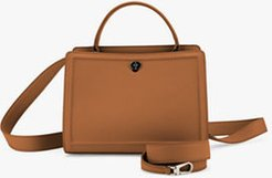 Cluisee Petite Leather Top Handle Bag