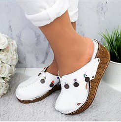 Plain Casual Date Wedge Sandals shoping, online sale,