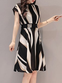Round Neck Color Block Shift Dress online shopping sites, online stores, petite dresses, shirt dress