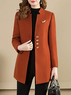 Collarless Plain Coat stores and shops, shoppers stop, womens winter parka, camel coat women's