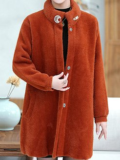 mid-length faux mink coat padded top sale, online, cute winter coats, leather jacket with fur