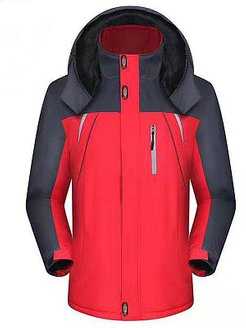 Fleece Outdoor Waterproof And Windproof Warm Jacket clothes shopping near me, shoping, dress coats for women, womens fall jacket