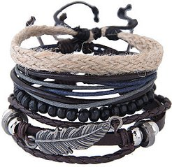 Leather Wrap Bracelets for Women online stores, clothes shopping near me,