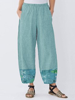 Casual printed wide-leg pants online stores, online,