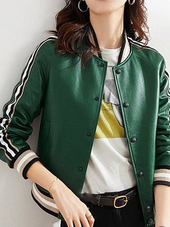 Sheep Leather Baseball Jacket Leather Jacket online shop, stores and shops, trench coat women, white winter coat