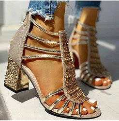 fashion sandals with chunky heels shoping, shop,