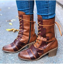Comfortable Thick Heel Boots online shopping sites, clothing stores,