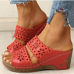 Hollow stylish comfortable open-toe Roman sandals stores and shops, online stores,