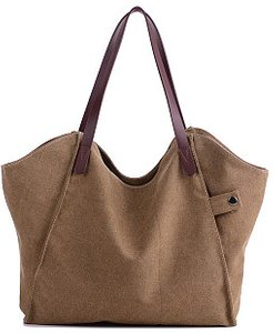 Canvas Thickened Large Capacity Bag stores and shops, shoppers stop, Solid Bags,