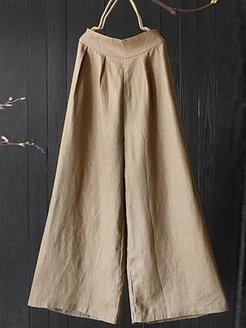 Literature and art retro ethnic style loose linen trousers online sale, stores and shops,