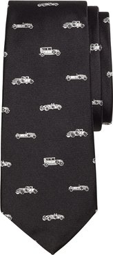Boys' Novelty Vintage Car Silk Tie