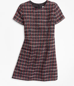 Girls' Girls Tweed Boucle Dress