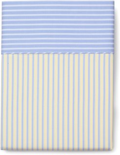 Stripe Queen Flat Sheet