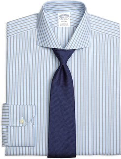 Non-Iron Regent Fit BB#1 Stripe Dress Shirt