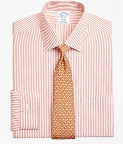 Stretch Regent Fitted Dress Shirt, Non-Iron Music Stripe
