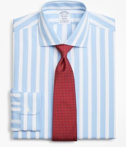 Stretch Regent Fitted Dress Shirt, Non-Iron Bold Stripe